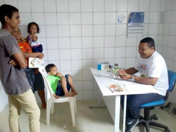 Campanha de multivacinação mobiliza todas as unidades de saúde de Pitimbu