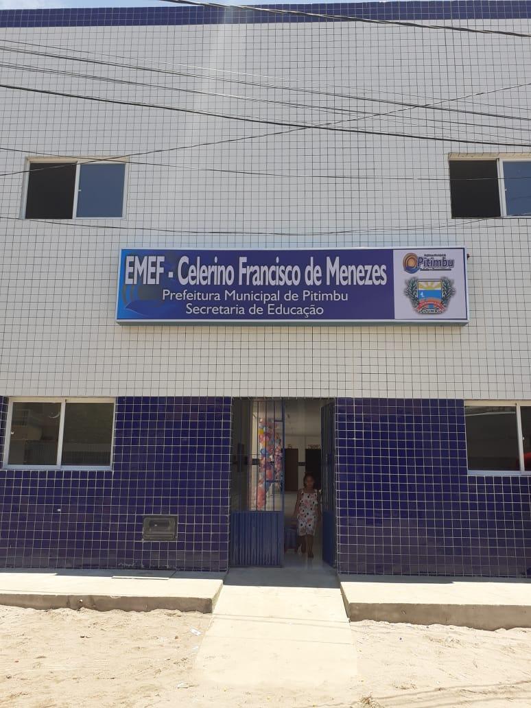 Prefeitura de Pitimbu conclui obra de reforma, ampliação e climatização da escola Celerino Francisco de Menezes