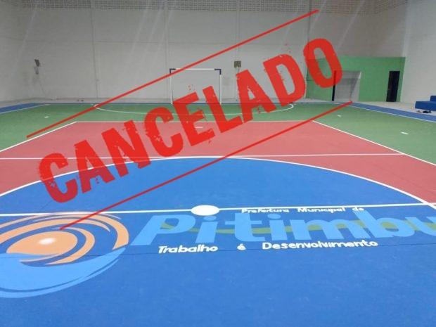 Covid-19: Secretaria de Esportes de Pitimbu cancela a realização dos tradicionais jogos da Semana Santa