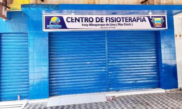 Prefeito Jorge Luiz entrega à população o Centro de Fisioterapia e Reabilitação em Acaú