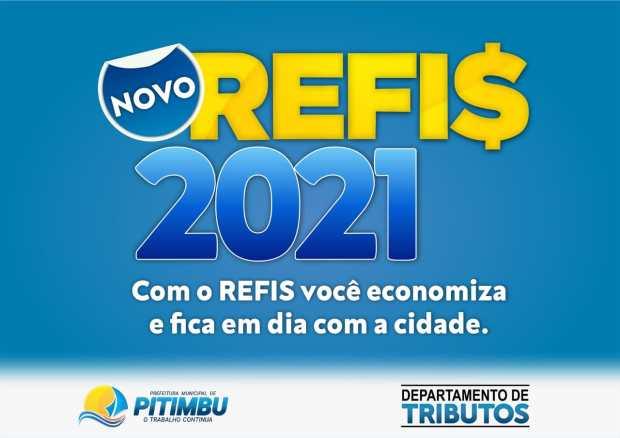 Prefeitura de Pitimbu lança Refis-2021 com desconto de 100% em multa e juros e opções de parcelamento com descontos